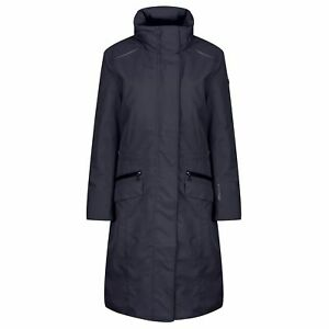 Equetech Venture Waterproof Trench Coat NAVY Medium and Large