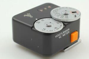 [ Casi Mint ] Voigtlander Vc Metro Negro Medidor Luz para Leica Ltm L39 Japón