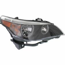For 525xi 06-07, Passenger Side Headlight, Clear Lens