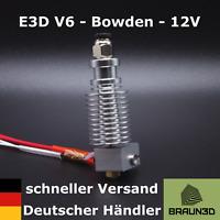 E3D V6 Hotend 1,75mm 12V - All Metal - Bowden-Extruder - schneller Versand