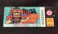 FREE SHIPPING Phish PTBM Ticket Stub Magnet Las Vegas Halloween Run 10/31 2018