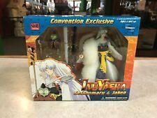 2005 InuYasha Sesshomaru & Jaken Convention Exclusive Toy Figure Set NIB SEALED