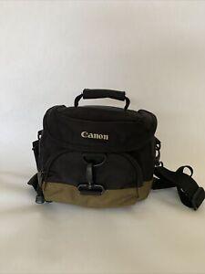Genuine Canon Camera Gadget Bag, Black/Olive, Shoulder & Hip/Waist