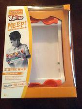 NEW Oregon Scientific Xplore MEEP!  MEEP Steering Wheel Includes 3 Free Games