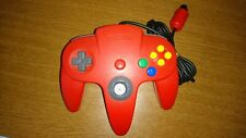 Official Nintendo 64 Controller RED USED N64 GAMEPAD