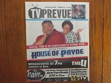 Feb 15, 2009 Chicago Sun-Times TV Prevue Magazine(TYLER  PERRY'S HOUSE OF PAYNE)