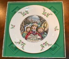 Royal Doulton 5th Annual Christmas Collectors Plate 1981 Original Box