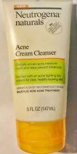 Neutrogena Naturals Acne Cream Cleanser 5 oz. (3 PACK)