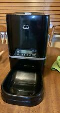 6.5L Pet Feeder,Automatic Cat Feeder   Timed Programmable Auto Pet Dog Food D...