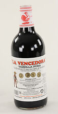 La Vencedora Pure Mexican Vanilla Extract 31oz - 1 Liter Glass Bottle Product