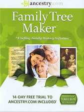 Family Tree Maker 2014 cd with tree sync