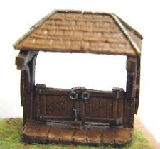 Church Lych Gate A83 UNPAINTED N Gauge Scale Langley Models Kit 1/148 Scenery