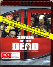 SHAUN OF THE DEAD Simon Pegg Nick Frost  HD DVD  Flat Rate Tracked Post