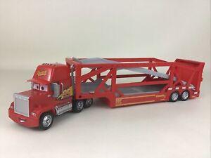 Disney Pixar Cars Launching Mack Transporter Semi Truck Vehicle 2017 Mattel Toy