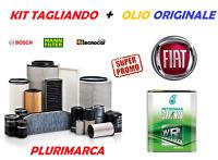 KIT TAGLIANDO COMPLETO FILTRI OLIO ORIGINALE SELENIA 0W30 FIAT 500X 1.3 MULTIJET