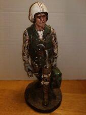 "Sculpted Figures ""Combat Pilot"" Garman Sculptures GAR-G2150 Signed LOT B"