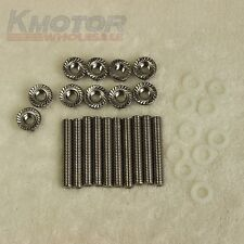 New Intake Manifold Extended Bolt Kit Stud Studs For Honda Acura B D H F B18 SI