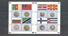 (959915) Flag, Coins, United Nations Vienna