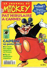 LE JOURNAL DE MICKEY n°2239 ¤ 1995 ¤ + CADEAU POSTER GEANT