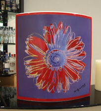 Increíble Rosenthal Studio Line Raro Andy Warhol firma Florero Doble De Colores Fab