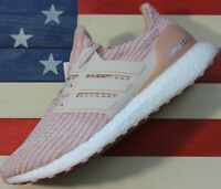 Adidas Ultra Boost 4.0 Ash Pearl Lenin White Running Shoe [BB6497] Women's sz 10