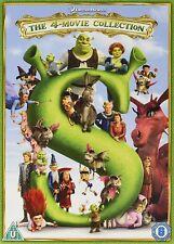 Shrek - 4 Movie Complete Collection DVD 2015 Region 2