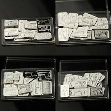 Lot of 80 X 1 Gram  .999  Fine Silver Bar /  LWP 529