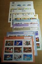 Ww Disney sheetlets of 9 (21) and souvenir sheets (25) all different and Xf-Mnh