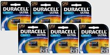 6~NEW! DURACELL 3 volt Lithium Photo Camera Battery CR2 DLCR2 ELCR2 CR17355