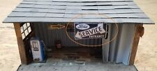 "Diorama Garage Sign ""Ford Service Entrance""  - 1/18 scale"