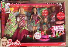 NEW Barbie and Her Sisters A Perfect Christmas Dolls and Stage Singing Skipper