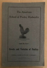 Breeds and Varieties of Poultry - Lessons Nos. 6 and 7 - 1916