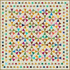 "JIMBARAN - 85"" - Batik - Quilt-Addicts Precut Patchwork Quilt Kit Queen"