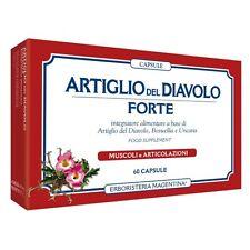 Erboristeria Magentina ARTIGLIO DEL DIAVOLO FORTE 60 capsule Boswellia e uncaria