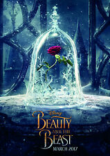 Beauty and the Beast Movie Large Poster Art Print - A0 A1 A2 A3 A4