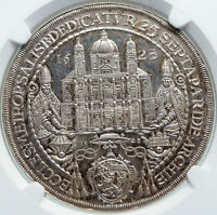 1928 AUSTRIA Koppenwallner Consecration CATHEDREAL Old Silver Medal NGC i87734