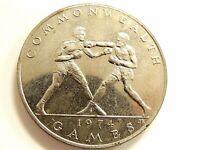1974 Samoa One ($1) Dollar Boxing Coin