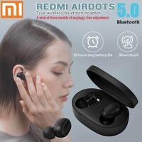 Original Bluetooth 5.0 Xiaomi Redmi AirDots Wireless Earphone W/Charger Box New