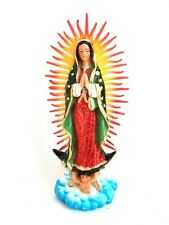 Authentic MEXICAN Virgin of Guadalupe Statue Religious Protection Icons Small
