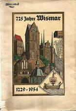 Festschrift 725 Jahre Wismar 1229-1954