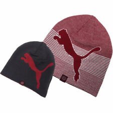Puma Reversible 2 in 1 Ricky Fowler Thermal Beanie Golf Hat Red Grey RRP £24.99!