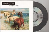 ELTON JOHN simple life CD PROMO france french card sleeve