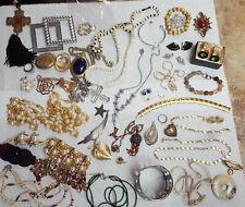 Lot - 2 Dozen Pieces ^ Vintage Estate Junk Drawer Costume Jewelry