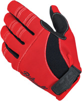 BILTWELL Moto Gloves XL Red/Black/White 1501-0804-005