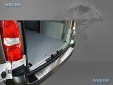 Adatto per Rifter//Partner//Combo//Berlingo paraurti posteriore in acciaio cromato scuro