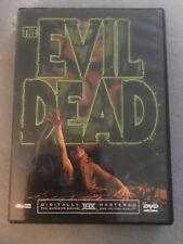 The Evil Dead: Sam Raimi Bruce Campbell Widescreen (Dvd, 2002)