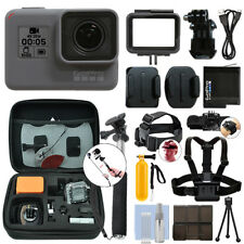 GoPro HERO6 Black Waterproof 4K Camera Camcorder + Ultimate Action Bundle