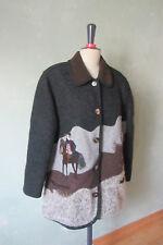 Giesswein Veste Costumes Veste Janker gris avec motif taille 48 (b11) #