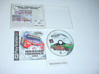 NASCAR THUNDER 2002 game complete w/ manual for Sony Playstation