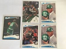 LOT of 2003/2005 Boston Celtics Allen Hunter Rookie Green Gomes Basketball Cards